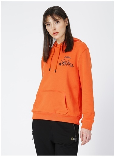 National Geographic Sweatshirt Oranj